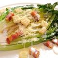 料理メニュー写真名物!ロメインレタスの焼きシーザーサラダ