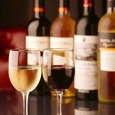 【ワインの種類が豊富】赤・白・シャンパンなど多くのドリンクをご用意しております♪