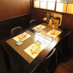 【1F】最大4名様までのテーブル席です!