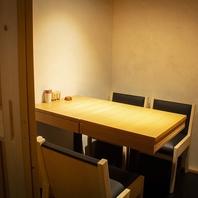 接待やご家族でのご利用にもおすすめの個室席