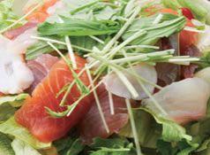 料理メニュー写真こじまの海鮮サラダ (2~3人前の量がございます)