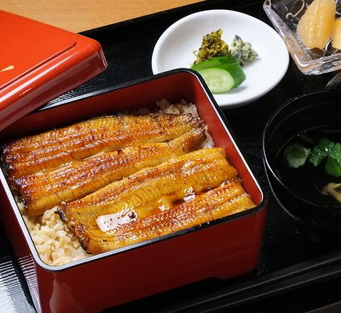 江戸時代から続く老舗鰻専門店の味が、東京ソラマチでもいただける。