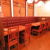 ゆったりとおくつろぎいただけるテーブル席多数!プライベートな飲み会やちょっとしたお食事会に♪