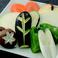 料理メニュー写真野菜焼き盛合せ/きのこ焼き/ニンニク焼き