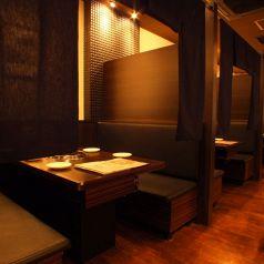 【接待×会食】大事な場はもちろん、お仕事での会食打ち合わせにも最適なプライベート空間です。