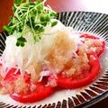料理メニュー写真完熟トマトサラダ