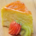 料理メニュー写真チーズ屋さんのベイクドチーズケーキ