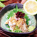 料理メニュー写真鶏わさ -生かぼす搾り-