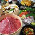 料理メニュー写真特上・和牛蒸籠