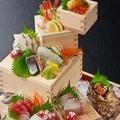 料理メニュー写真名物!!鮮魚の枡盛り