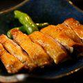 料理メニュー写真比内地鶏 極上もも一枚焼き