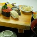 料理メニュー写真【高級】すしセット