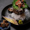 料理メニュー写真アワビの刺身