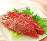 熟成・赤身・厚切りみすじステーキ