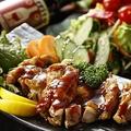 料理メニュー写真◆贅沢地鶏を使用した特製!!Grill チキンステーキ◆