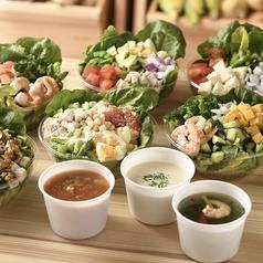 salad&soup ichiju-issai サラダアンドスープ イチジューイッサイイメージ