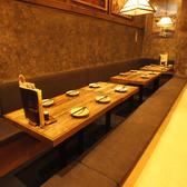 掘りごたつのお席は、落ち着いてお食事をお楽しみ頂けます!!