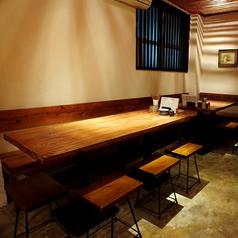 会社の仲間や複数名での飲み会などはテーブル席をご利用下さい★