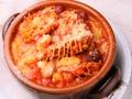 料理メニュー写真トリッパと4種類のトマト煮