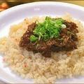 料理メニュー写真カルビ焼肉ガーリックライス