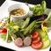 彩り野菜の冷製バーニャカウダ
