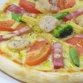 料理メニュー写真MIXピザ  S/L