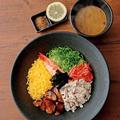 料理メニュー写真鹿児島新名物!? 鶏麺(海鮮濃厚白湯)