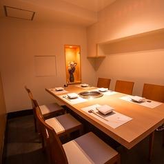 完全個室のプライベート空間。