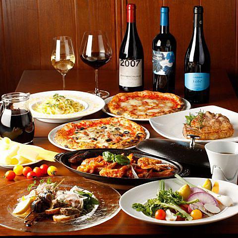 南イタリアワインを片手に♪窯焼ナポリピッツァとナポリ料理を中心としたトラットリア