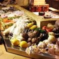 海鮮類以外にも新鮮な野菜も揃っています!