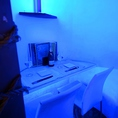 一番人気☆ムーディーな雰囲気♪ブルーライト仕様のカップル個室