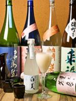 季節物や限定物など。日本酒にこだわり。