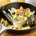 料理メニュー写真真鯛のアクアパッツァ