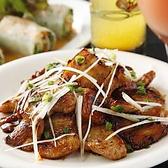 炭火窯焼き名物の豚肉タンドール焼き!! 限定ビールにぴったり!! 人気メニューでこだわりのソースがうまい豚肉とお酒のお供に最適な料理数々ご用意してます!!