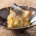 料理メニュー写真焼き鯖ポテトサラダ