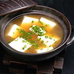 ●勘九朗の豆腐(奴豆腐、温豆腐)
