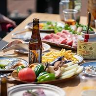 BBQ×お肉×お酒=最高の休日!