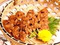 料理メニュー写真あさりの串焼き (5串)