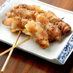 岩下の新生姜肉巻き串焼き