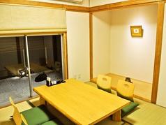 個室空間でプライベートもばっちり!4~7名様で承ります。