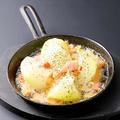 料理メニュー写真つちの力玉葱アヒージョ