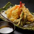 料理メニュー写真天ぷら盛り(6品)