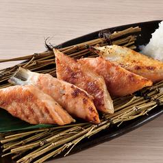 おつまみ鮭ハラスの博多明太炙り焼