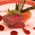料理メニュー写真宮崎山牛のレアステーキ