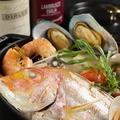 料理メニュー写真白身魚と旬野菜のブイヤベース