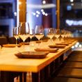 デートや接待など少人数からご利用いただけるお席多数ございます!ゆっくりしたお話をされたいときや、静かにお食事を楽しみたい方など、プライベートなお時間を過ごされたい方にぴったりです!