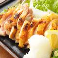 料理メニュー写真もも焼き(たたきポン酢・ガーリック焼・旨塩)