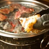 今食べたいお肉がずらり!こだわりの備長炭焼肉♪