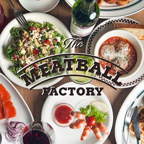 ミートボールを中心とした肉料理を本場NYを感じる店内でお楽しみ下さい。