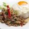 料理メニュー写真鶏ひき肉のガパオ炒めごはん「ガイ・ガパオ」★★☆
